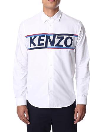 bc1d502b824e Kenzo Men's Long Sleeve Mesh Shirt: Amazon.co.uk: Clothing