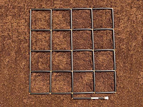 GardenInMinutes.com Garden Grid Watering System 4x4