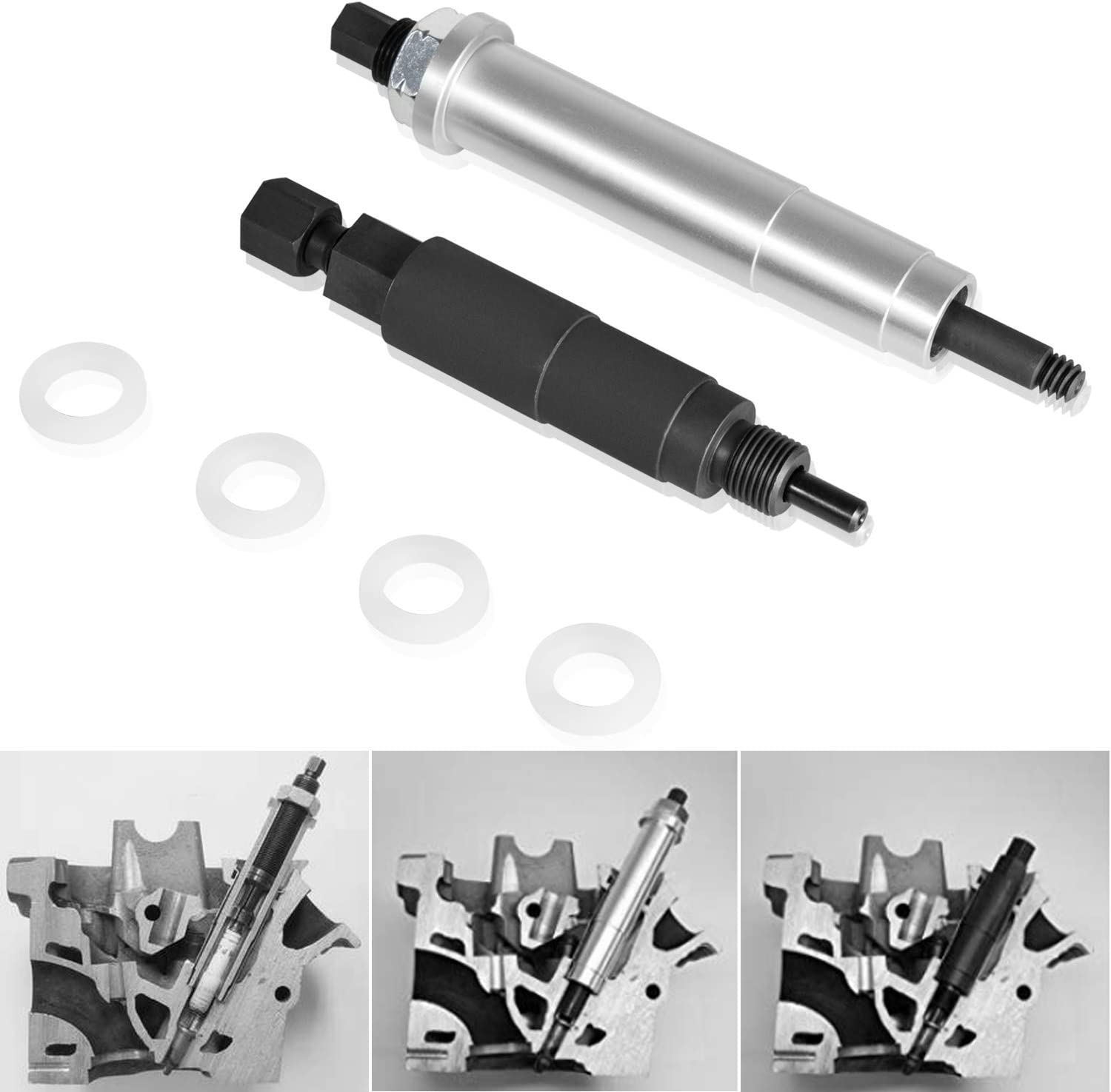 3//8-Inch Expert E040217 6 Point Universal Impact Socket with 1//2-Inch Drive