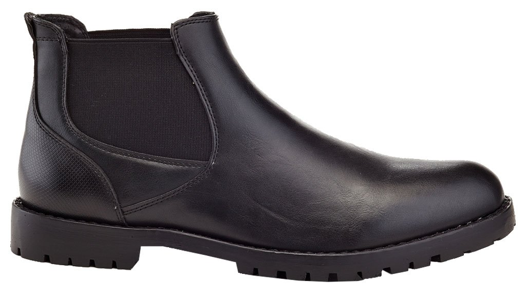 Franco Vanucci Men's Formal Slip On Jacob Casual Chelsea Dress Boots