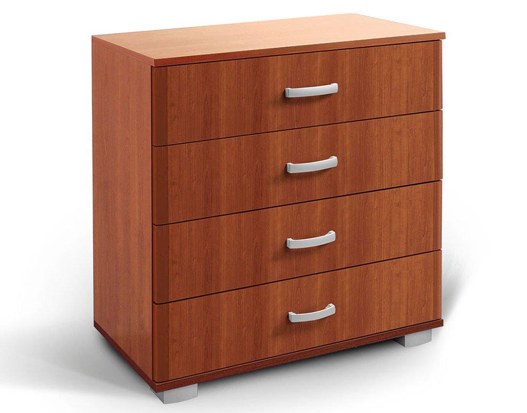 Kommode Tudela 13, Farbe: Kirsche - 80 x 75 x 52 cm (H x B x T) Steiner Shopping Möbel
