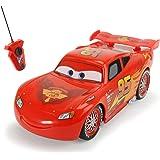 Dickie Toys 203089568 - RC Lightning McQueen Single Drive, funkferngesteuerter Rennwagen, 14 cm
