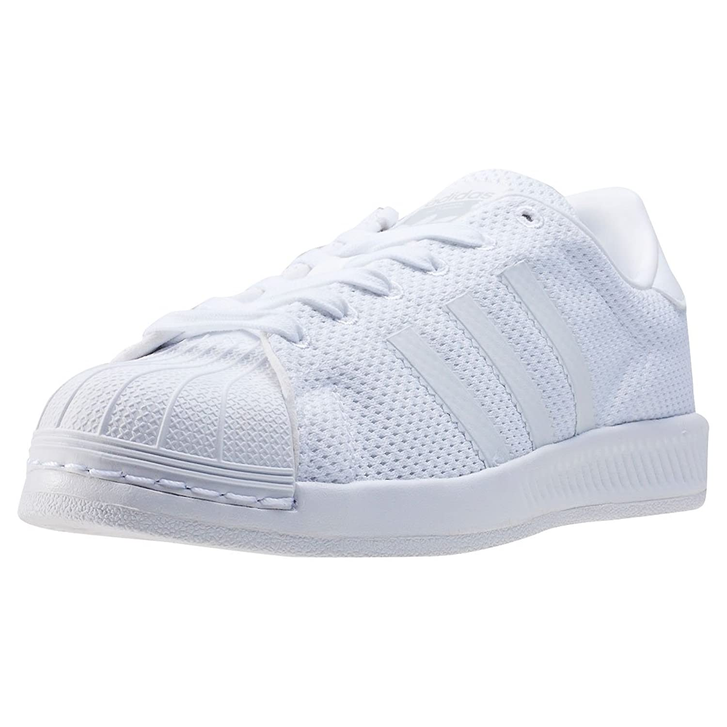 c4702d5fcd1fc2 adidas Superstar Bounce J Kids Trainers White White - 5.5 UK
