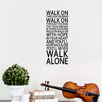 Vinyl Wall Decals Zitate Sprüche Worte Kunst Dekor