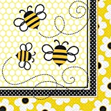 Bumble Bee Party Napkins, 16ct