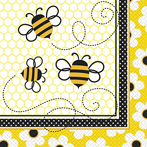 Bumble Bee Party Napkins 16ct