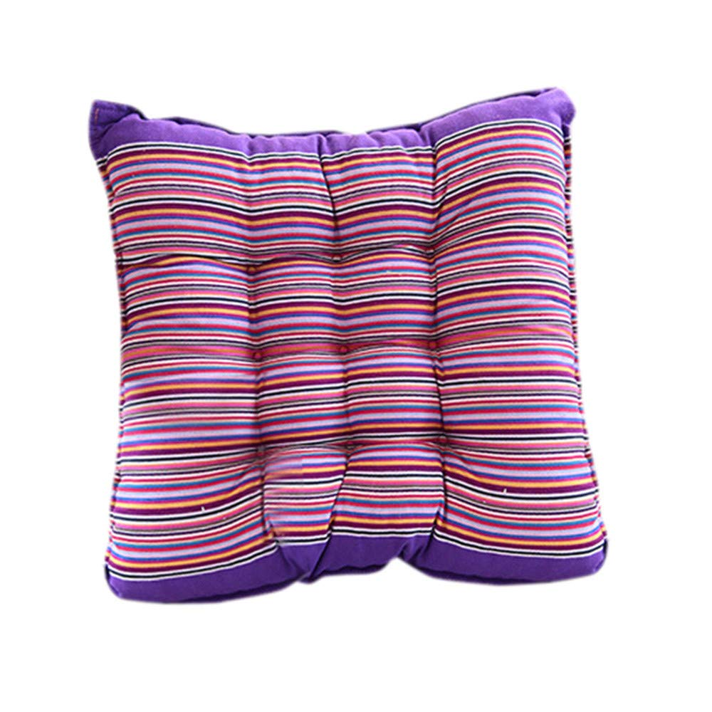 Alimao Outdoor Garden Patio Home Kitchen Office Sofa Chair Seat Soft Cushion Pad Purple