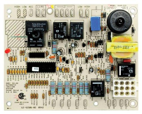 Rheem Ruud Protech Integrated Furnace Control Board IFC UTEC 1068-210 for RKKB, RKMB, RKNB (# 62-42506-02)