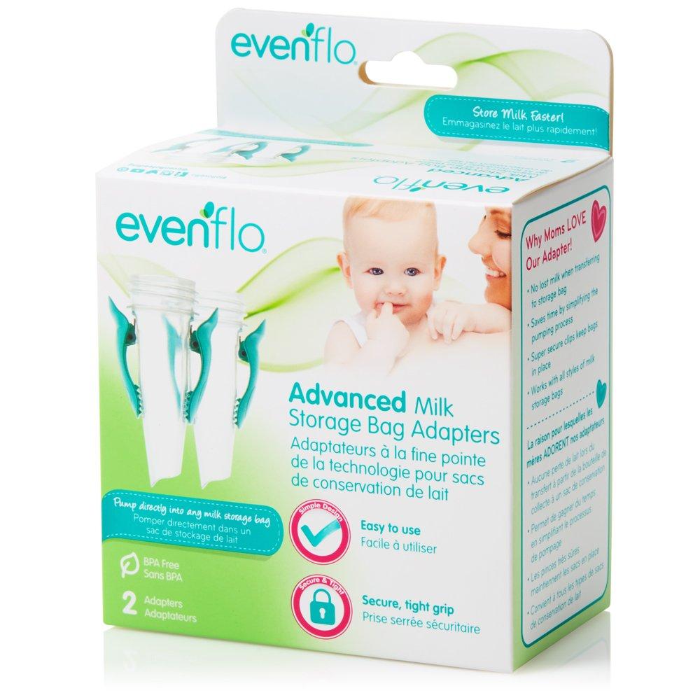 Evenflo Feeding Advanced Milk Storage Bag Adapters