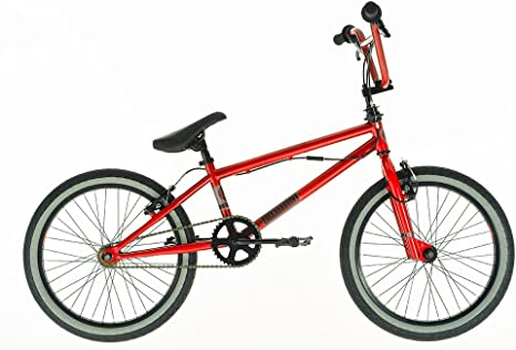 Diamondback Option BMX - Bicicleta BMX Freestyle, Color Rojo ...