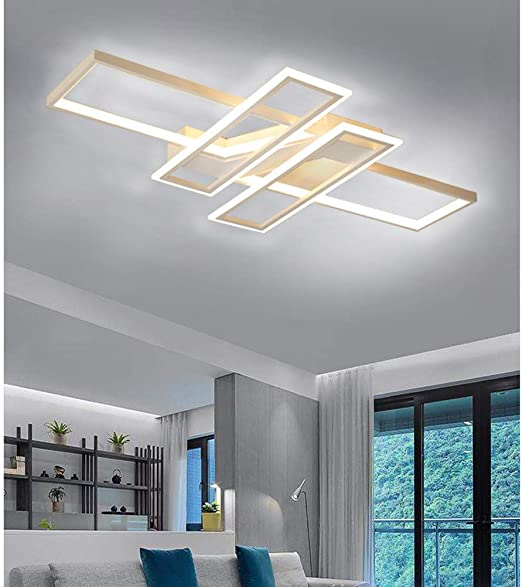 KBEST Lamparas De Techo LED Modernas 80W Luz De Techo Plaza Diseño ...