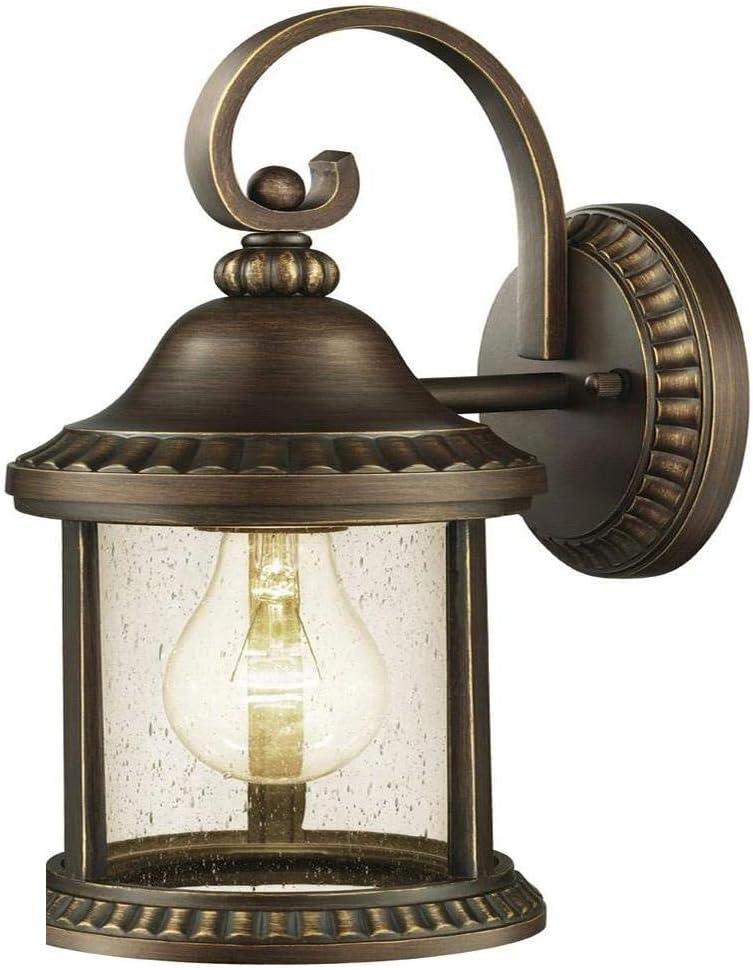 Home Decorators Collection Cambridge Outdoor Essex Bronze Medium Wall Lantern