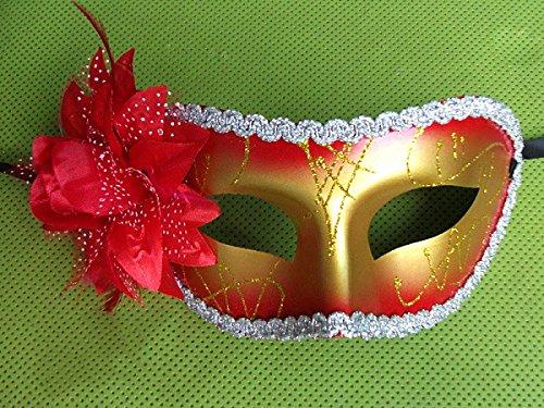 Damjic Beauty Mask Princess Side Mask Halloween Mask (Masque D'halloween De Vampire)