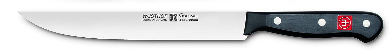 Wusthof 4130 7 16 Gourmet Kuchenmesser Edelstahl Schwarz 16 X