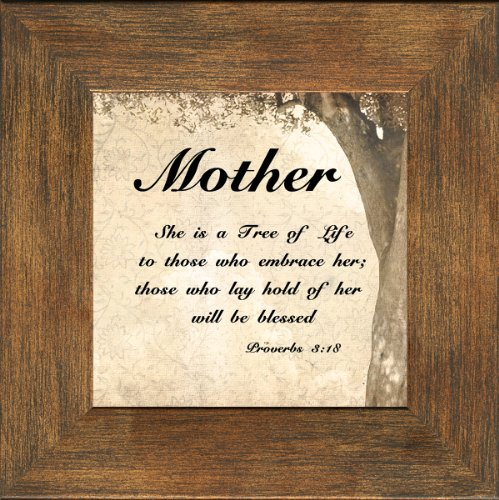 Mother Inspirational Saying Framed Giftfor Encouragement and