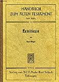 Leviticus, Elliger, Karl, 3161086023