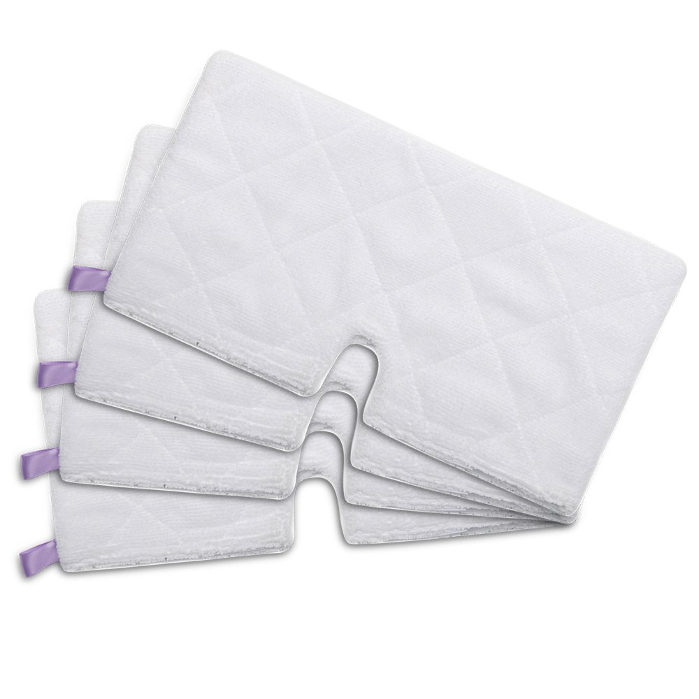 HIFROM(TM 4pcs Replacement Washable Steam Mop Microfiber Cleaning Pads Household Duster Covers for Shark Pocket Steam Mop S3501 S3601 S3901 (Size :32x17cm)
