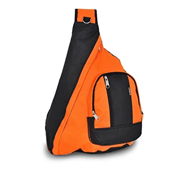 Amazon.com: Everest Sling Bag Shoulder Carry Backpack - Orange ...