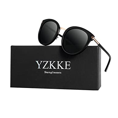 6a430f0a49de3 Amazon.com  Vintage Round Wayfarer Polarized Sunglasses for Women ...