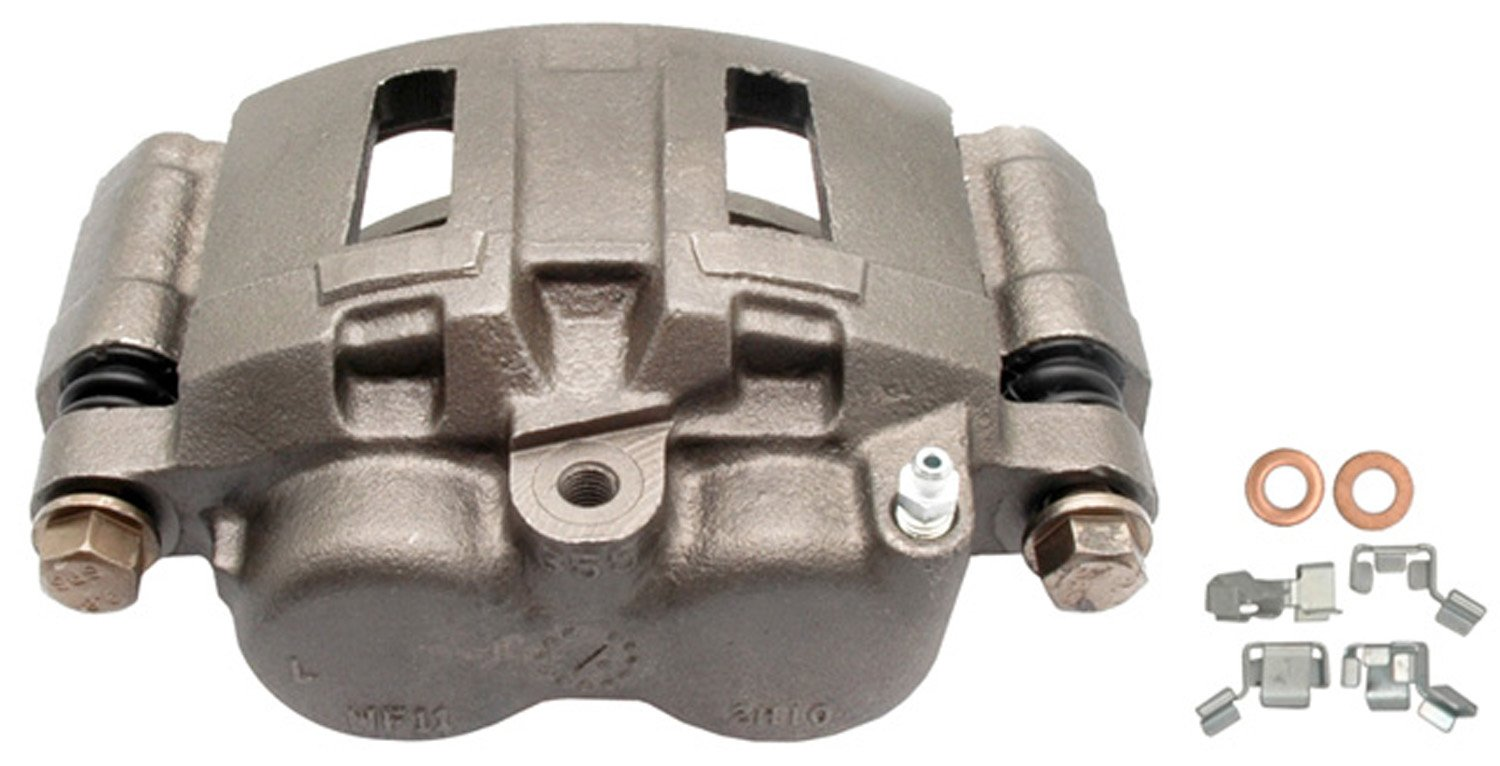 ACDelco 18FR1373 Professional Durastop Front Driver Side Disc Brake Caliper Assembly without Pads (Friction Ready), Remanufactured