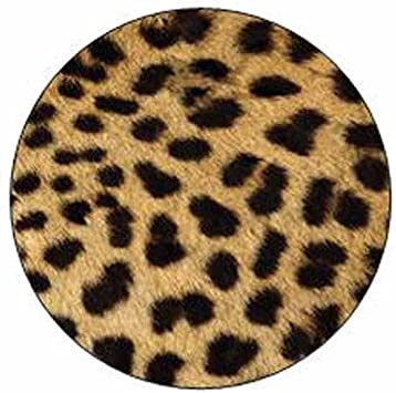 Leopard Print Stickers Envelope Seals Party Favor Supplies Animal Theme Stationery Design Set of 24