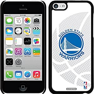 Coveroo iPhone 5 5s Black Thinshield Snap-On Case with Golden State Warriors Halftone Logo Design