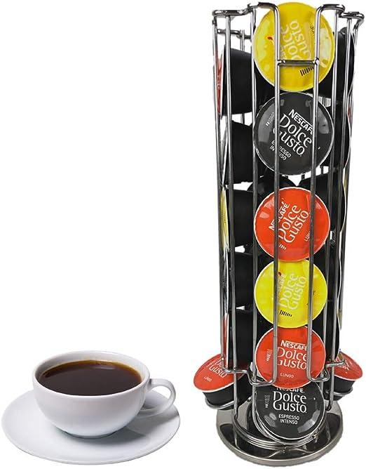Konesky Soporte de cápsula de café Soporte de Almacenamiento de ...