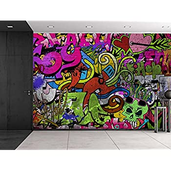 Graffiti Photo Wallpaper Street Art Style