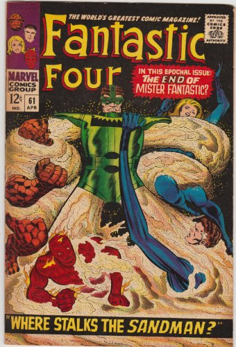 Fantastic Four #61 Silver Age Marvel Comic