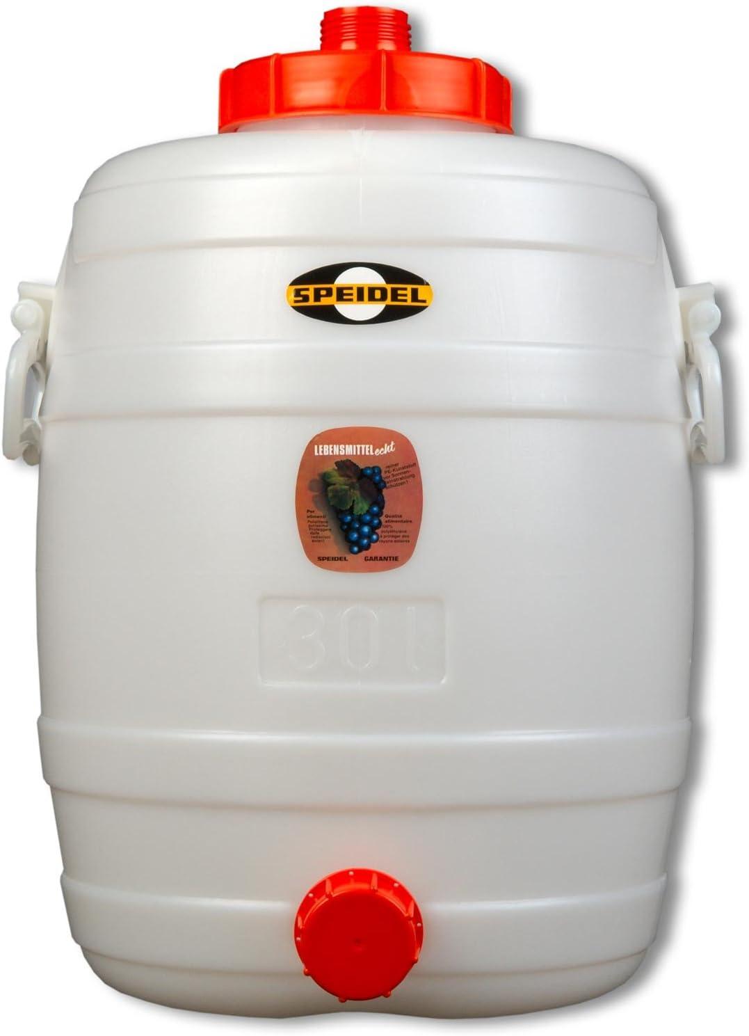 robinet de fermentation en plastique et seau dembouteillage pour brassage de bi/ère maison Lot de 2 robinets en plastique rouge