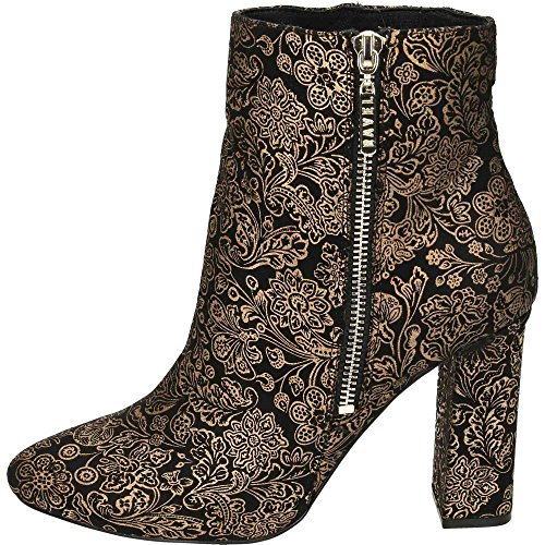 Ravel Fenice Heeled Ankle Boots Floral Print Black uPO8wPOp