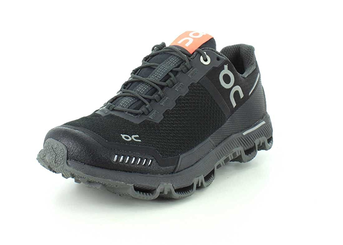 On-Running Womens Cloudventure Shield Black//Dark Trail Runner