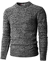 Mens Casual Slim Fit Basic Designed Knit Pullover Sweater Of Various Colors