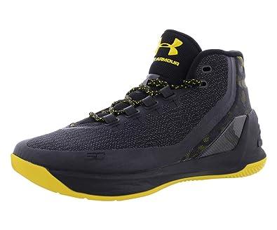 9074da9873ce Under Armour Basketball Stephen Curry Shoe 3 Dub SC Black Camo - Size 41   Amazon.co.uk  Shoes   Bags