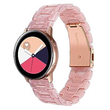 TRUMiRR Galaxy Watch 42mm Correa de Reloj, 20mm Banda de Reloj de Resina de Liberación Rápida: Amazon.es: Deportes y aire libre