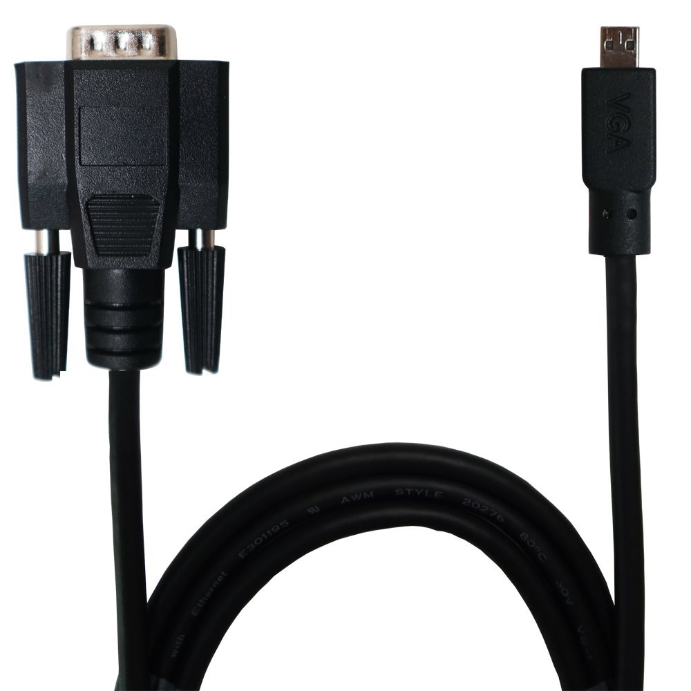 Gechic VGA Cable for 1002/1101/1102/1303/1502/2501/1503 Series (2.1m) by Gechic