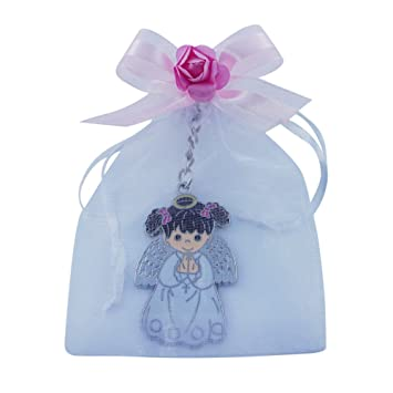 Amazon.com: First Communion Baptism Keychain Party Favor (12 ...