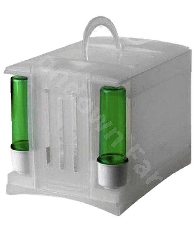Moondown Farm Plastic Carry/Transport Box Finch Travel Box - Canary Travel Box - Bird