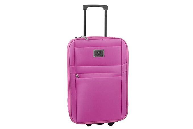 869f481b65 Valigia trolley semirigido GIANMARCO VENTURI rosa bagaglio a mano ryanair  S301: Amazon.it: Abbigliamento