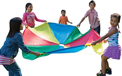 Pacific Play Tents 12 Foot Kids Parachute with Handles u0026 Carry Bag for Indoor / Outdoor  sc 1 st  Amazon.com & Amazon.com: Pacific Play Tents: Parachutes