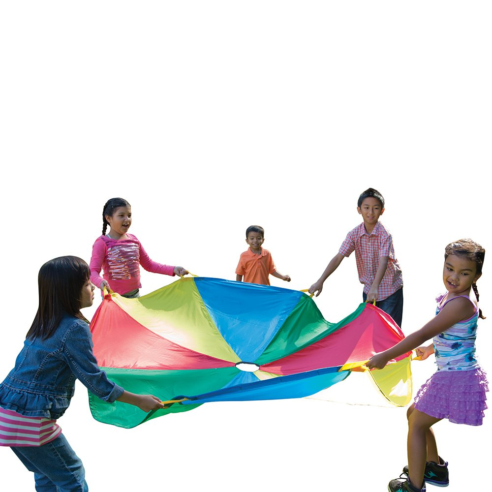 Pacific Play Tents 6' Parachute with Handles and Carry Bag