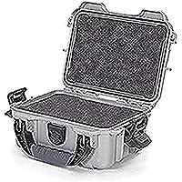 Nanuk 903 Waterproof Hard Case with Foam Insert - Silver - Made in Canada
