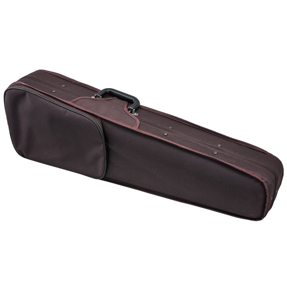 SKY Violin Triangle Case Lightweight Full Size Brown Color