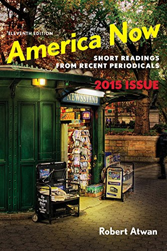 America Now: Short Readings from Recent Periodicals Pdf