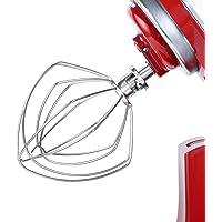 Geesta K45ww - Accesorio de batidor de alambre para batidor Kitchenaid de 6 alambres de acero inoxidable compatible con…