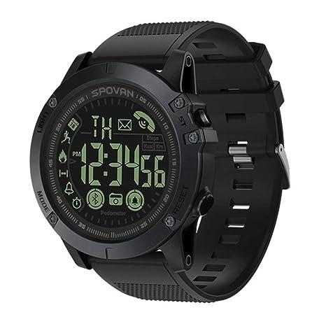 YZPZHSB Reloj Inteligente Bluetooth 33 Meses Tiempo en Espera 24 Horas Deporte Reloj Digital Reloj Inteligente