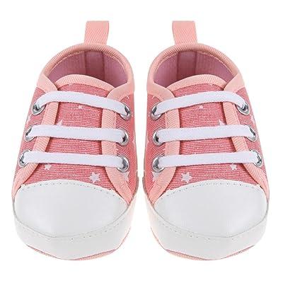 Amazingdeal Newborn Baby Toddler Boys Girls Soft Sole Kids Shoes Canvas Prewalker