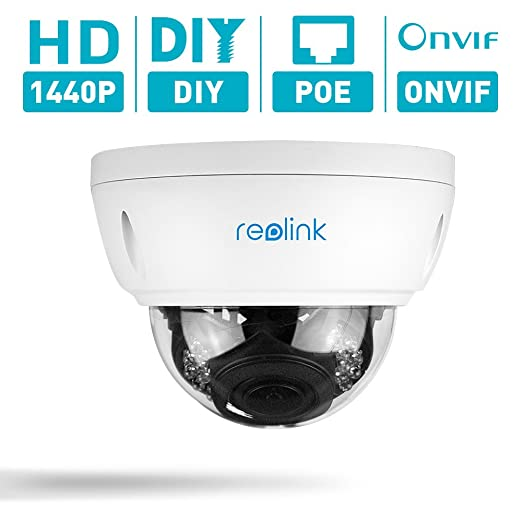 6 opinioni per Reolink RLC-422 4MP(1440p) 4X Optical Zoom PoE Dome Security IP Camera for