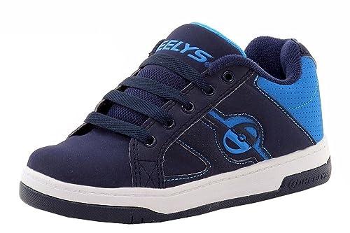 Heelys Split - Zapatillas con ruedas - Azul Marino y Azul: Amazon.es: Zapatos y complementos