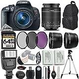 Canon EOS Rebel T5i DSLR Camera 700D + 18-55mm IS STM - International Version